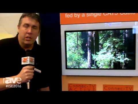ISE 2016: Aquavision Overviews Connec-TV Active Range of TVs