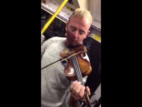 Irish music in the London Underground