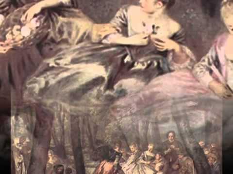 Marin Marais - 5_8 - Suite in Mi minore - 09. Rondeau Champêtre- Watteau