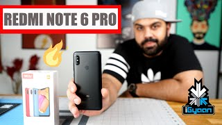 Xiaomi Redmi Note 6 Pro India Unboxing First Look