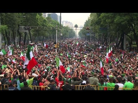 World Cup: Fans go wild in Mexico City after win against Croatia