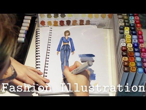 Fashion Illustration - Tips & Tricks