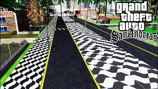 Como Instalar Ruas e Calçadas Brasileiras no GTA San Andreas