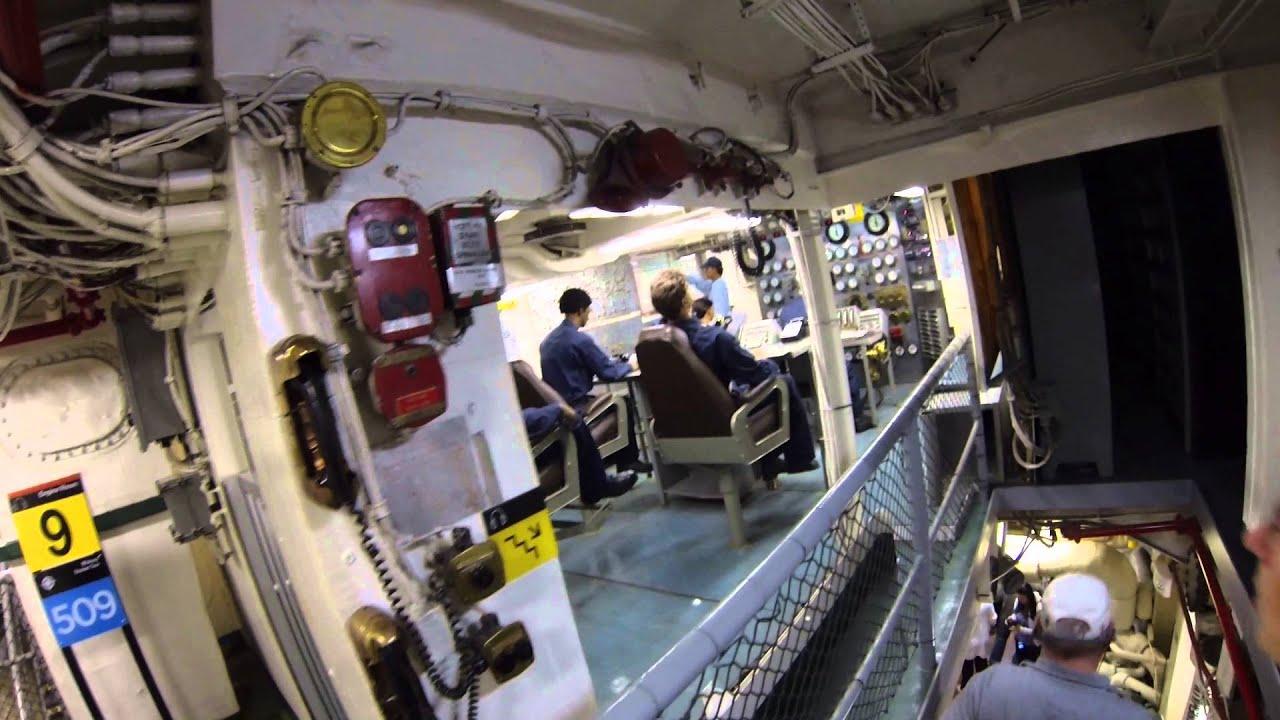 San Diego Uss Midway Museum Engine Room Steam