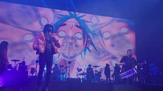 Gorillaz - Opium feat. EARTHGANG Live at The O2 Arena, London, 11/08/21