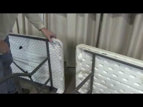 Lifetime Table Skirting Clips From Quik Stage Youtube