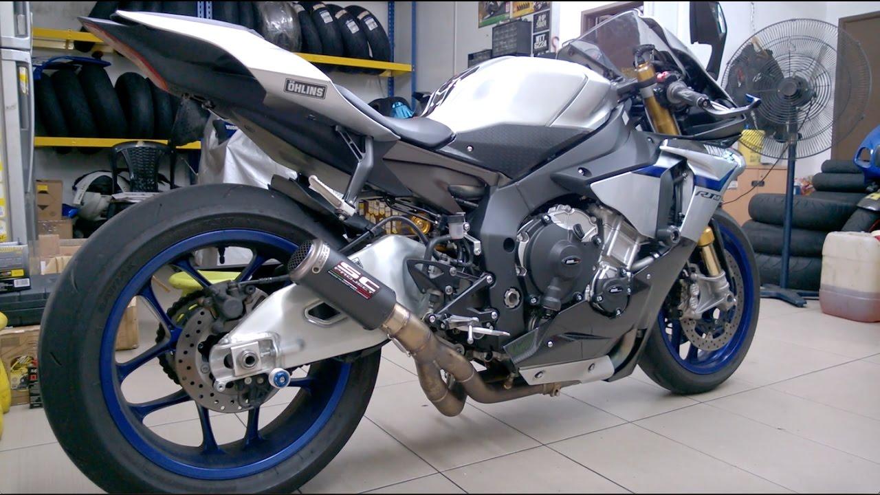 Yamaha R1M SC Project CRT Exhaust Sound