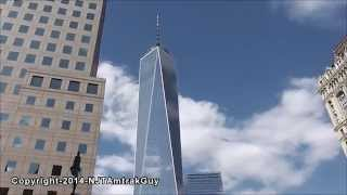 UPDATE! One World Trade Center / Freedom Tower 8/14/2014 construction progress part 1