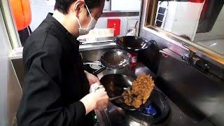 Super Easy Garlic Fried Rice - Japanese Street Food