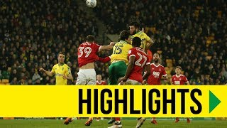 HIGHLIGHTS: Norwich City 0-0 Nottingham Forest