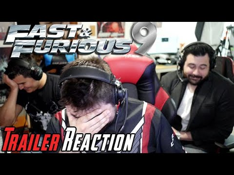 Fast and Furious 9 - Angry Trailer Reaction!