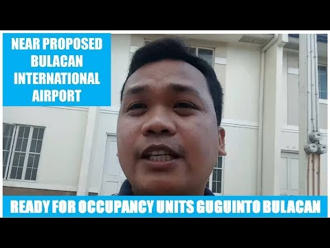 RFO Units Brooklyn Heights Guguinto Bulacan near proposed Bulacan Airport