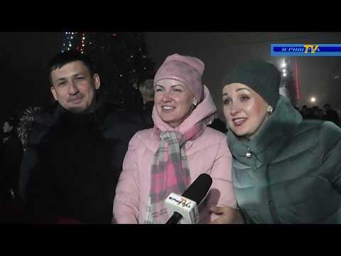 Новогодняя ночь в Зернограде