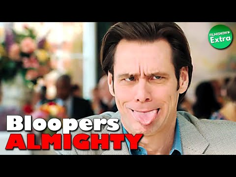 BLOOPERS ALMIGHTY | JIM CARREY Gags Outtakes Compilation