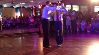 Первые робкие шаги Аргентинского танго - мужское шоу: Валиуллин Айрат и Ваганов Игорь