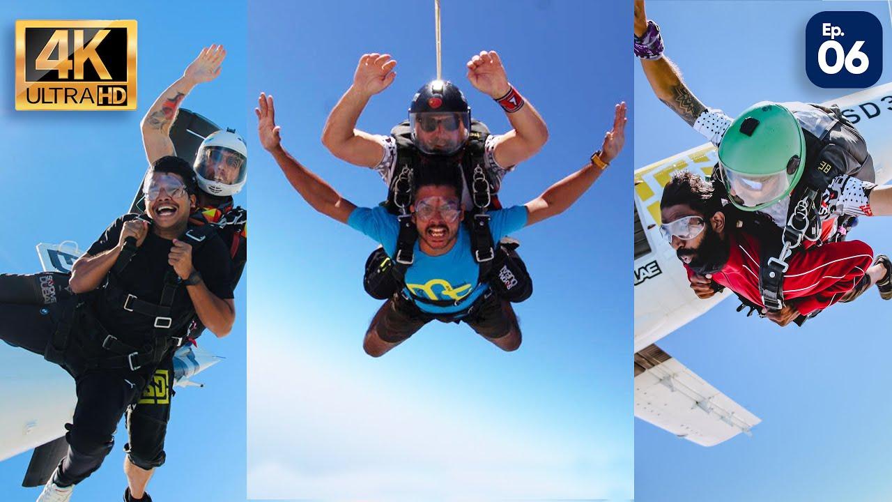 Finally Sky Diving In DUBAI 😍 / പൊളി സാധനം 😘