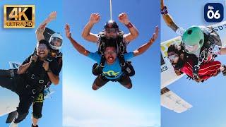 Finally Sky Diving In DUBAI 😍  , Malayalam