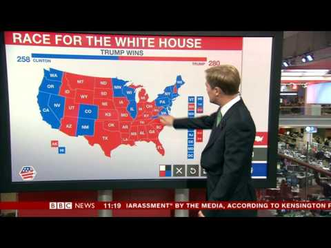 Donald Trump WINS the US Presidential Election 2016