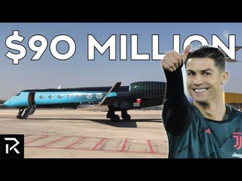 Inside Both Of Cristiano Ronaldo's Private Jets