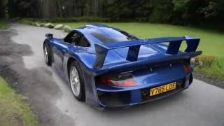 Porsche 911 GT1 Accelerations and Sounds