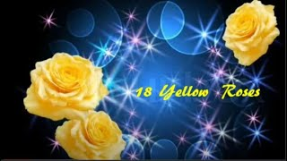 18 Yellow Roses - Line Dance (Demo & Walk Through)