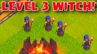 Clash of Clans NEW LEVEL 3 WITCH WORLD PREMIERE | CoC Town Hall 11 Christmas Update 2015 Sneak Peek