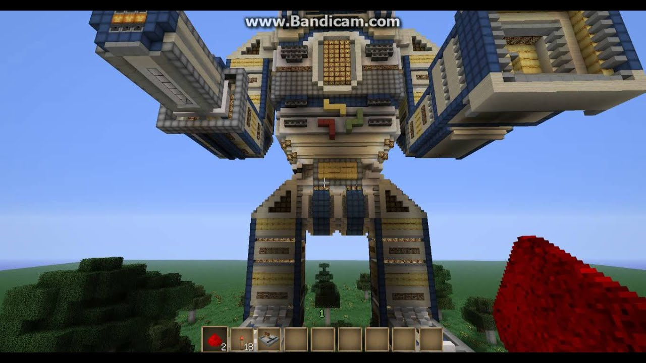 Карта механический робот для майнкрафт