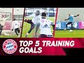 Top 5 Goals In FC Bayern Training mp3