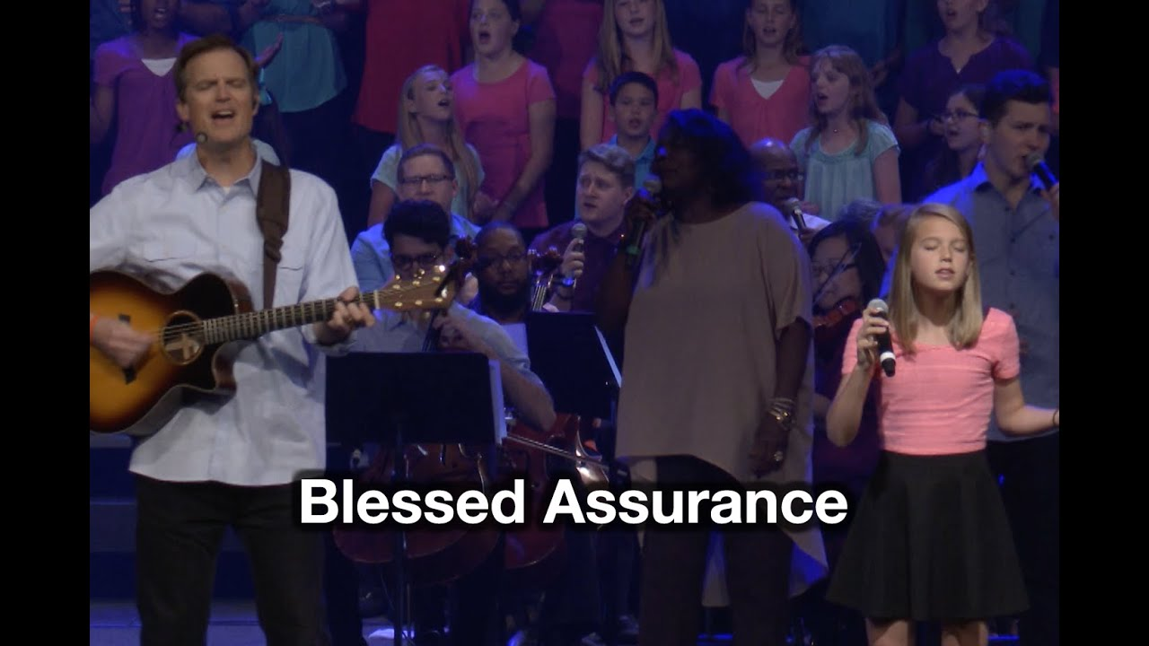 Blessed Assurance - Tommy Walker - from Generations Hymns 2