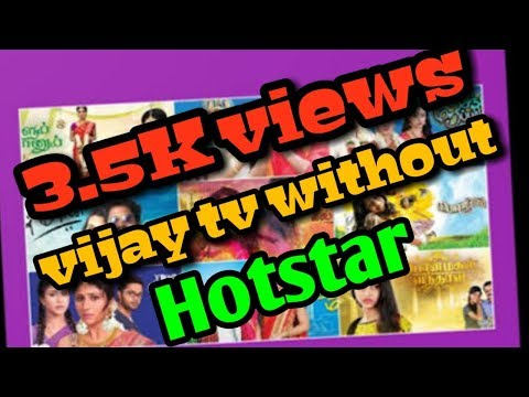 How To Watch Vijay Tv Without Hotstar-Tech-#4