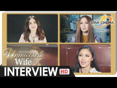 Interview - KimErald, Coleen Garcia, Arci Muñoz - 'The Unmarried Wife' - 동영상