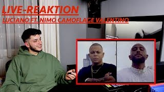 LIVE REAKTION ( LUCIANO FT NIMO  VALENTINO CAMOFLAGE)
