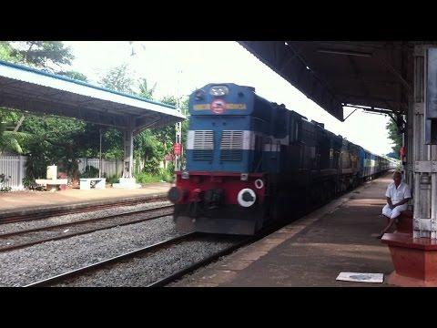 Cannanore Passenger Meets Chennai mail
