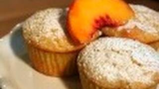 Fresh Peach Muffins: Nothin' But Muffins #19