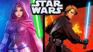 anakins new crush during the clone wars star wars comics explained
