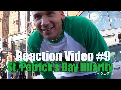 REACTION Video #9: Green Aventador & Friends take on St. Patrick's Day. EPICOSITY Ensues