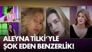 Aleyna Tilki'ye ikizi kadar benzeyen Tuana Bayrak ilk kez canlı yayında!