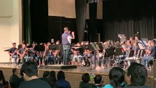 Rice Middle School Wind Ensemble 2018-2019 Jasper Italian Dinner. King Cotton