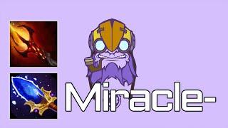 miracle tinker triple rampage gameplay dota 2