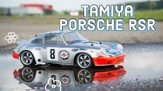 Tamiya RC Outdoor TT-02R Porsche 911 Carrera RSR 1973 Brushless Lipo • #58571 • HD タミヤ「ポルシェ カレラ