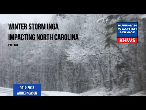 Winter Storm Inga Coverage Charlotte-Metro Area