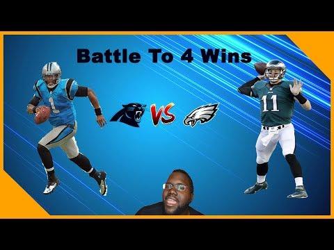 Carolina Panthers Vs Philadelphia Eagles Live Stream! Clash Of Two
