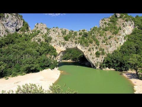 Pont d'Arc, France Ardèche Provence [HD] (videoturysta.eu)