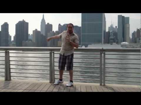 caminando en las calles de Nueva York (east riverside park nyc)