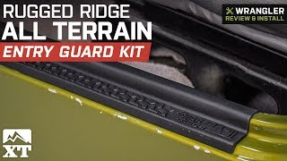 Jeep Wrangler Rugged Ridge All Terrain Entry Guard Kit (1997-2006 TJ) Review & Install