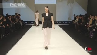ANNA KRUCHINKINA CPM Moscow Fall 2016 2017 by Fashion Channel