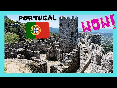 Historic Castelo dos Mouros (Caste of the Moors), Sintra, Portugal