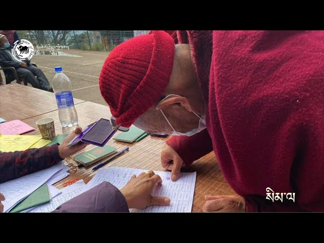 Exile Tibetans cast votes for 'Sikyong' and 17th TPiE members: Photo compilation