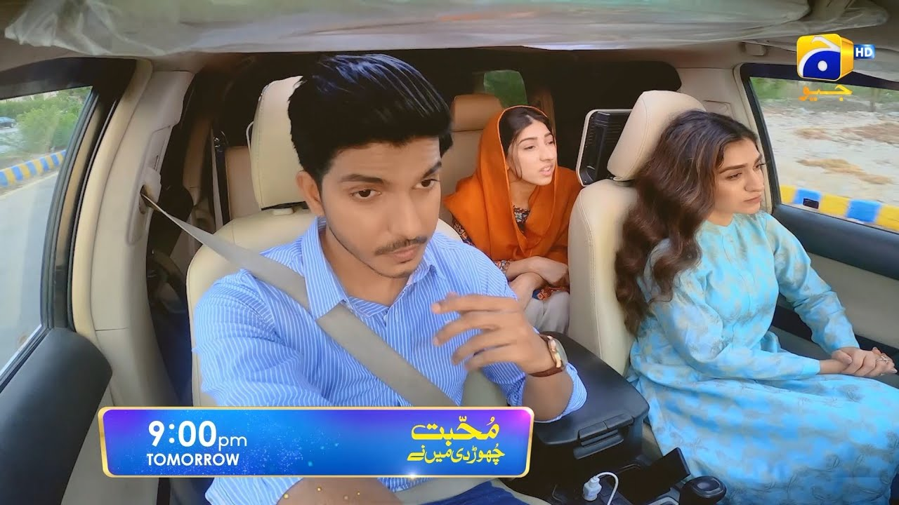 Mohabbat Chor Di Maine - Promo Episode 25 - Tomorrow at 9:00 PM only on Har Pal Geo