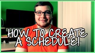 How to Create a Schedule! Thumbnail